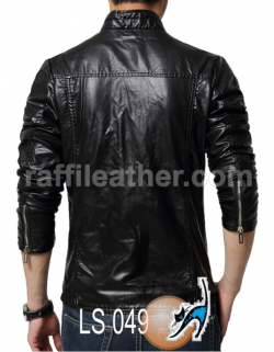 Jaket Kulit Slim Fit LS 049