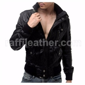 Jaket Kulit Slim Fit LS 051
