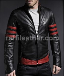 JAKET KULIT X-MEN ORIGINS